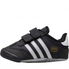 adidas Originals Dragon Learn 2 Walk Black/ White/Black