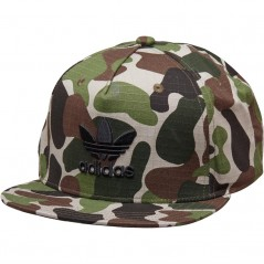 adidas Originals Camouflage Snap-Back Sesame/Multicolour/Black