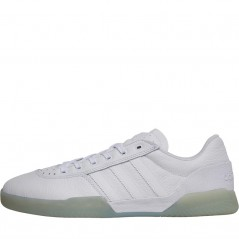 adidas Originals City C White/ White/Gold Metallic