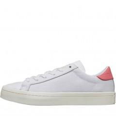 adidas Originals Court Vantage  White/ White/Chalk Pink