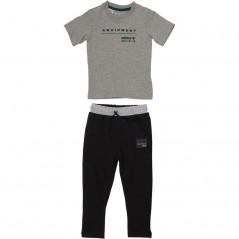 adidas Originals Baby Equipment T-Set Medium Grey Heather/Mystery Green
