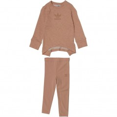 adidas Originals Baby French Terry Jogger Set Ash Pearl