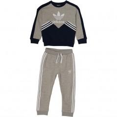 adidas Originals Baby Jogger Set Collegiate Navy/Medium Grey Heather