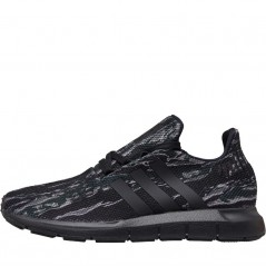 adidas Originals Junior Swift Run Utility Black/Utility Black/Black
