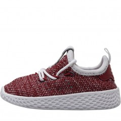 adidas Originals x Pharrell Williams Tennis HU  White/ White/Burgundy