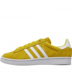 adidas Originals Kids Campus Yellow/ White/ White