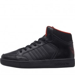 adidas Originals Kids Varial Mid Black/Black/Orange