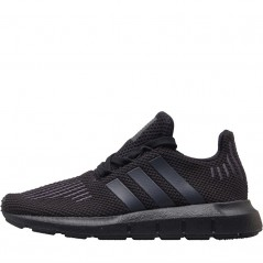 adidas Originals Kids Swift Run Black/Utility Black/Black