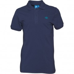 adidas Originals Trefoil Pique Polo Navy