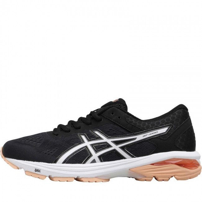 Asics GT-1000 6 Stability Black/Canteloupe/Carbon
