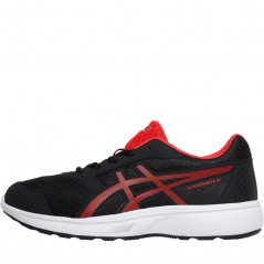 Asics Junior Stormer 2 GS Black/Red Alert