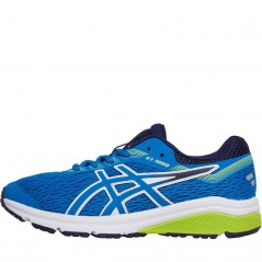 Asics Junior GT-1000 7 GS Stability Race Blue/Neon Lime