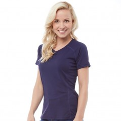 Berghaus Tech Tee V-Evening Blue