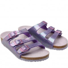 Birkenstock Kids Florida Birko-Flor Reflection Lilac