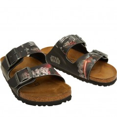 Birkenstock Arizona Birko-Flor DD Kylo Ren Black Red