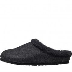 Birkenstock Kaprun WZ Happy Lamb Anthracite/Black
