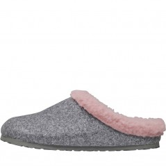 Birkenstock Kaprun WZ Happy Lamb Gray/Rose