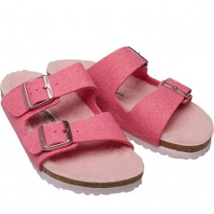 Birkenstock Arizona WZ Happy Lamb Pink/Rose