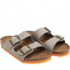 Birkenstock Kids Arizona Desert Soil Grey