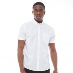 Ben Sherman Plain Oxford White