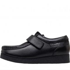Ben Sherman Junior Quad Velcro Black