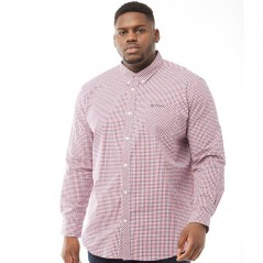 Ben Sherman Plus Size Gingham Red
