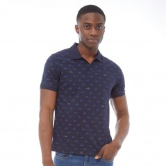 Ben Sherman Scooter Jersey Polo Navy