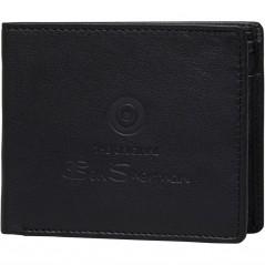 Ben Sherman Dack Leather Coin Black