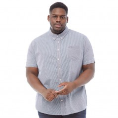 Ben Sherman Plus Size Gingham Navy