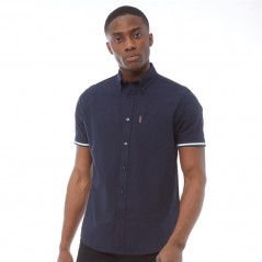 Ben Sherman Oxford Rib Navy