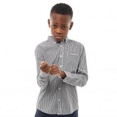 Ben Sherman Junior Classic Gingham Black