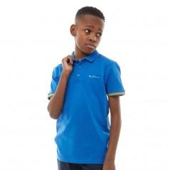 Ben Sherman Junior Polo Nautical Blue