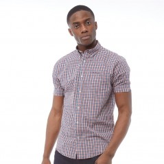 Ben Sherman Square Check Blue