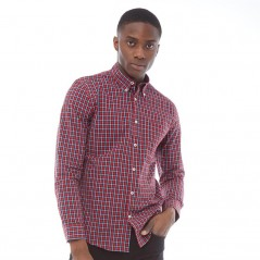 Ben Sherman Square Check Red