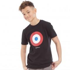 Ben Sherman Junior Target T-Black
