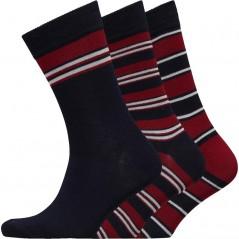 Ben Sherman Coneygree Navy/Red/Stripes