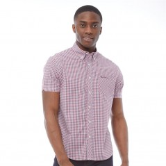 Ben Sherman Gingham Red
