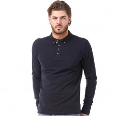 Brave Soul Lincoln Polo Dark Navy