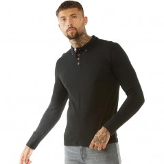 Brave Soul Lincoln Polo Black