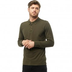 Brave Soul Lincoln Polo Dark Khaki