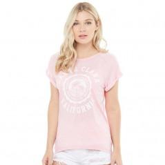 Brave Soul Clara Burn Out T-Blossom Pink