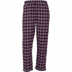 Brave Soul Terrence Flannel Wine/Blue Check