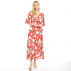 Brave Soul Maxi Flame Red White