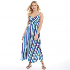 Brave Soul Kate Striped Maxi Multi