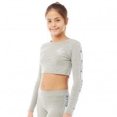 Beck And Hersey Junior Gracie Tape T-Light Grey Marl
