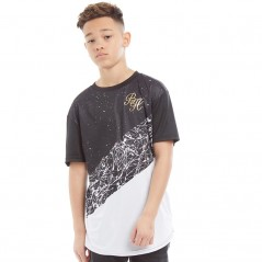 Beck And Hersey Junior Sean T-Black/White/Gold Foil