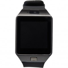 Challenger Bluetooth Smart Watch Mail/Text Alert And Camera Func Black