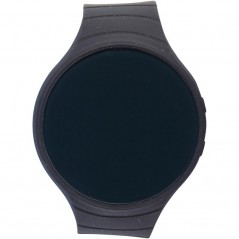Challenger Round Smart Watch Black