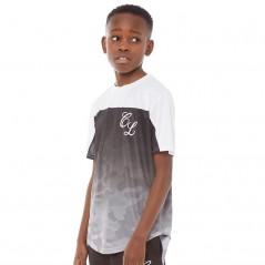 Closure London Junior Camo T-Black/Grey