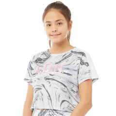 Closure London Junior Cropped Marble T-Grey